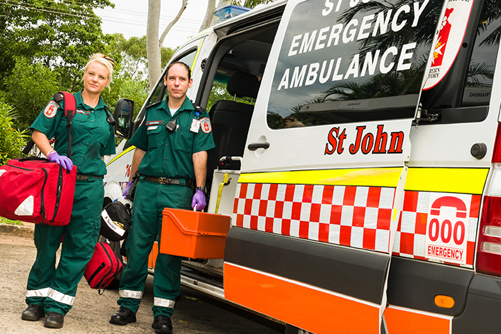 Welcome to St John Ambulance (NT)
